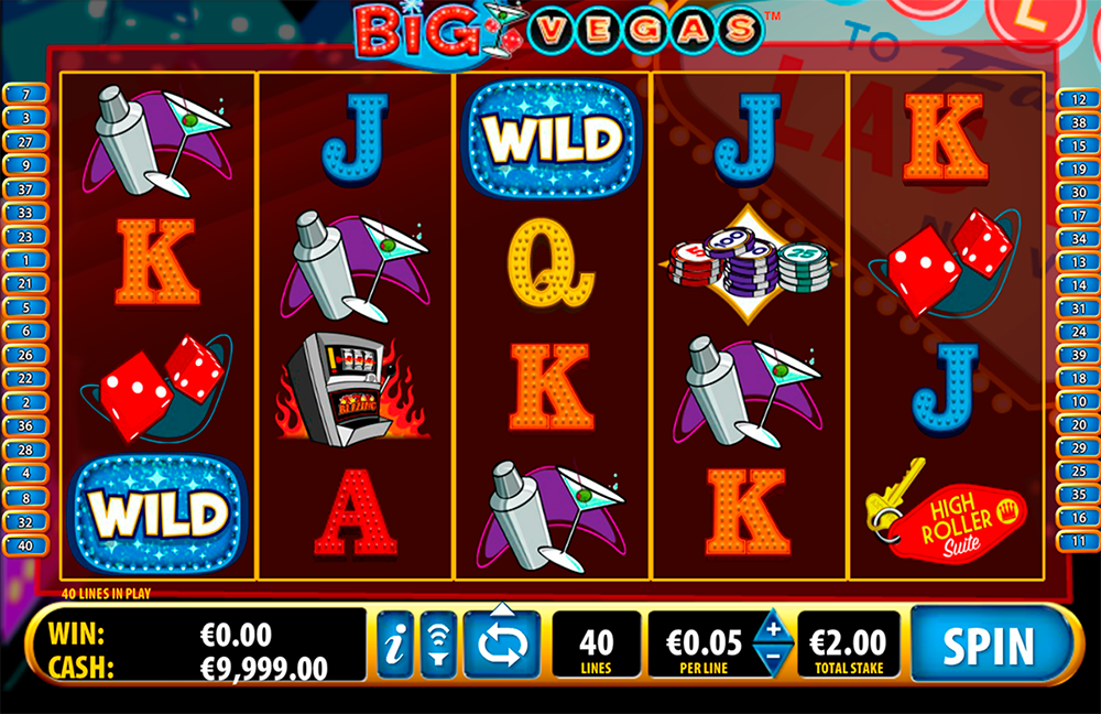 Big Vegas Slot Review