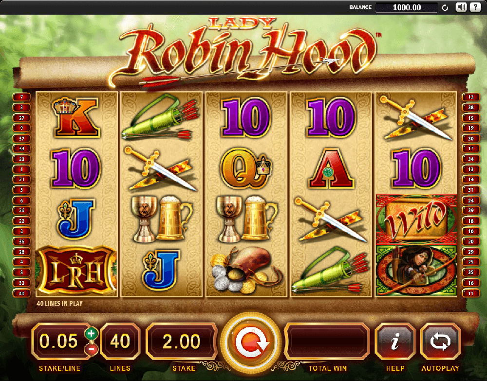 Lady Robin Hood Slot Review