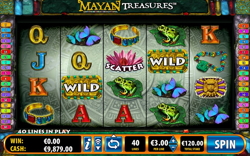 Mayan Treasures Slot Review