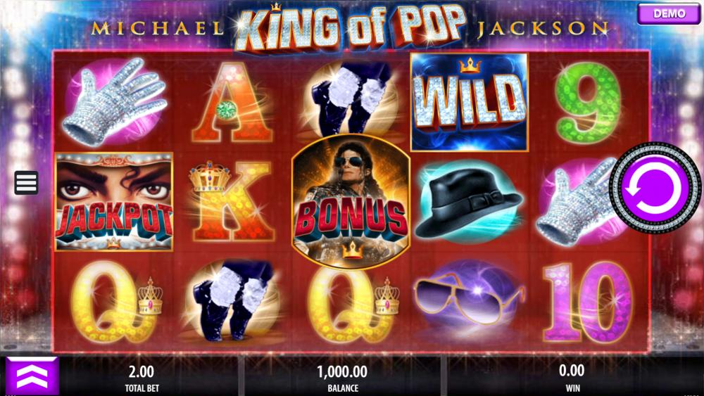 Michael Jackson Slot Review