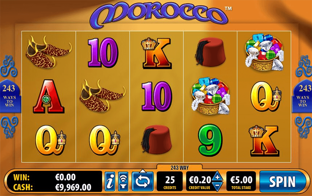 Morocco Slot Review